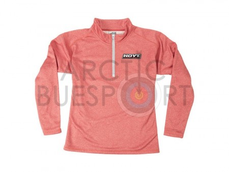 Hoyt Women´s 3/4 Salmon Zip Pullover